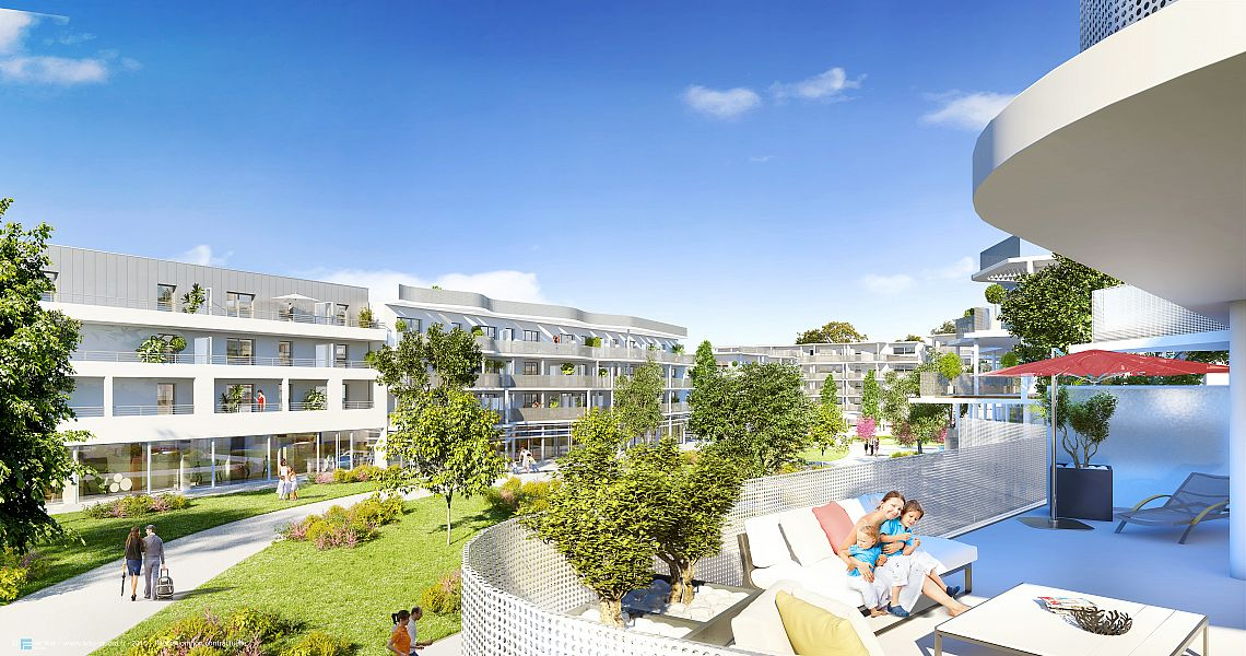 Achat appartement neuf la rochelle immobilier neuf la for Programme immobilier la rochelle